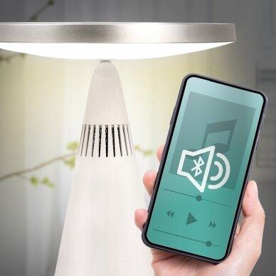 Makiažo veidrodis su garso kolonėlėmis ir LED apšvietimu Silk'n MusicMirror 10