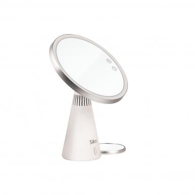 Makiažo veidrodis su garso kolonėlėmis ir LED apšvietimu Silk'n MusicMirror 5