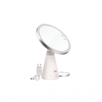 Makiažo veidrodis su garso kolonėlėmis ir LED apšvietimu Silk'n MusicMirror 2