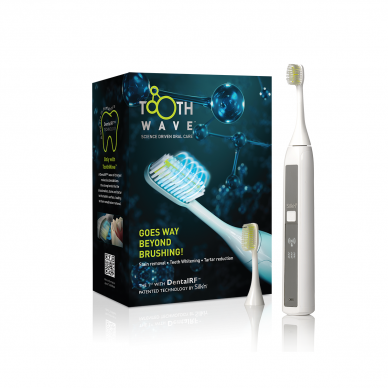 Elektrinis dantų valymo apartas Silk'n ToothWave 30